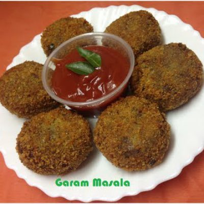 Beef Cutlet / Meat Cutlet / Snack / Iftar Dish