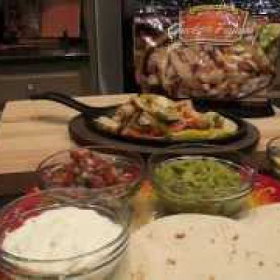 Chicken Breast Fajita Tacos Recipe