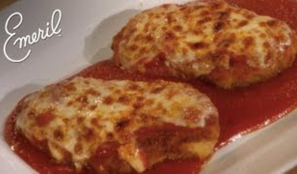 Classic Italian Chicken Parmigiana Recipe – Emeril's Classic Dishes – Emeril Lagasse