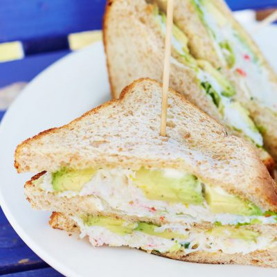 CRAB Club Sandwich | Bart's Fish Tales