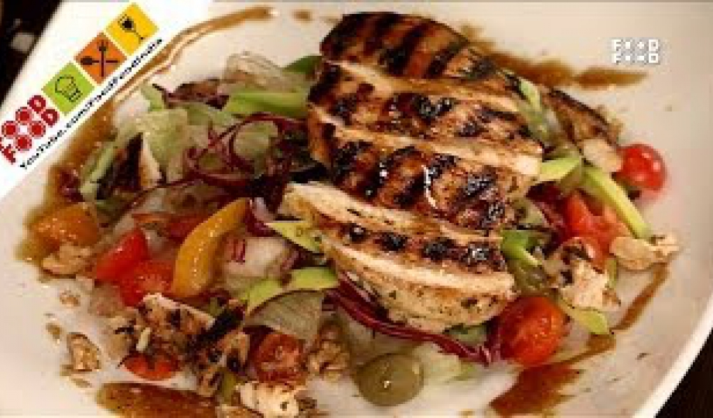 Grilled Chicken Salad with Citrus Dressing | Food Food India – Fat To Fit | Healthy Recipes