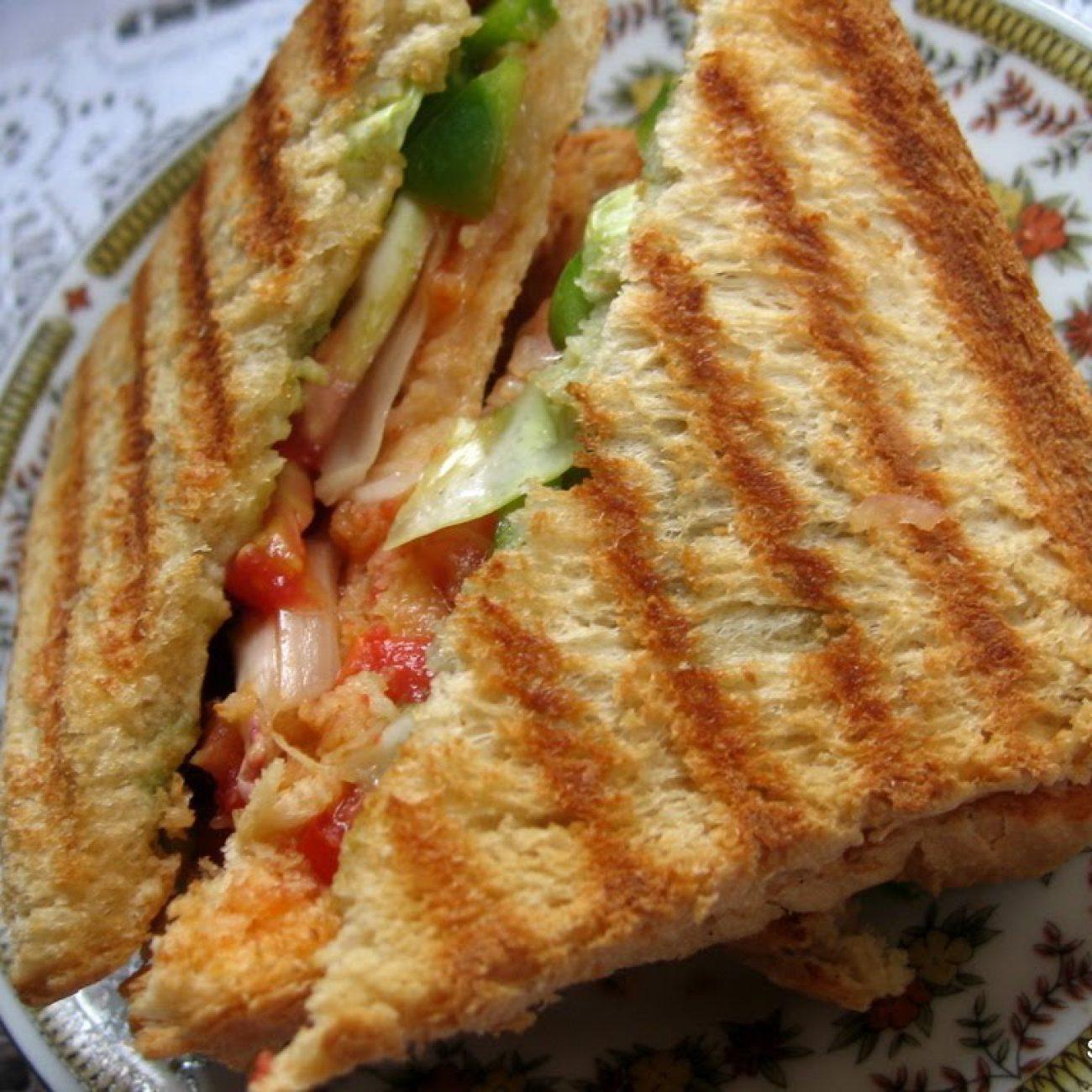 Grilled Daily Sandwich – Sanjeev Kapoor – Khana Khazana