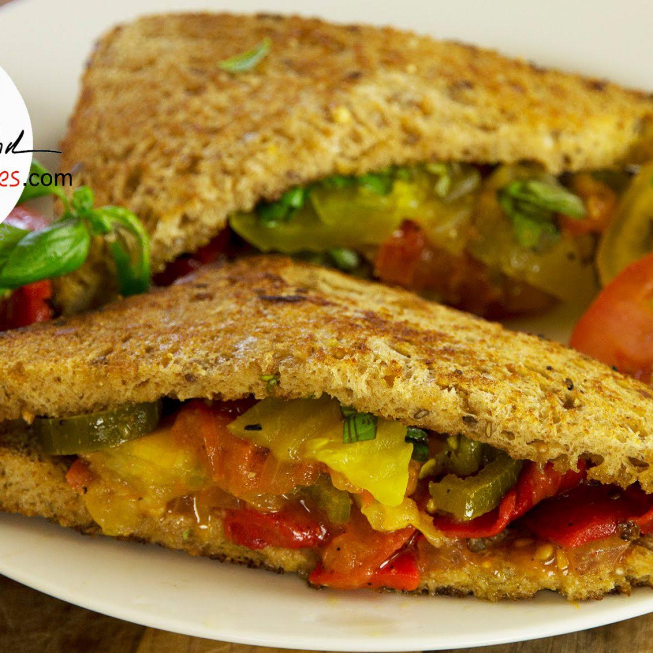 Grilled Summer Veggie Sandwich Recipe