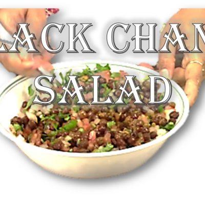 Healthy Black Chana Salad | Weight Loss Recipe by Rinku