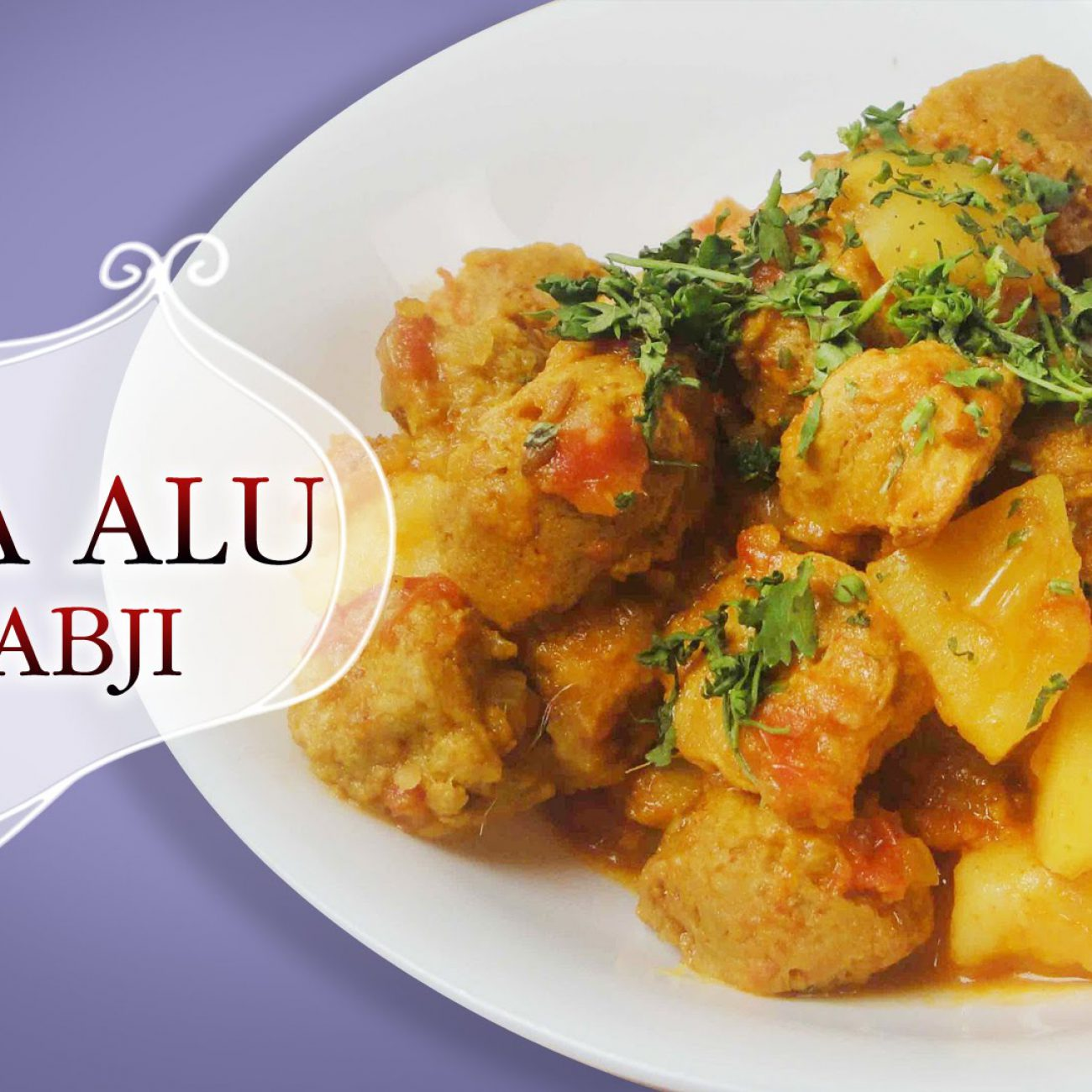 Healthy Soya Alu Sabzi (Fresh Dill and Potatoes dry curry) – Main Course Recipes – Indian Food