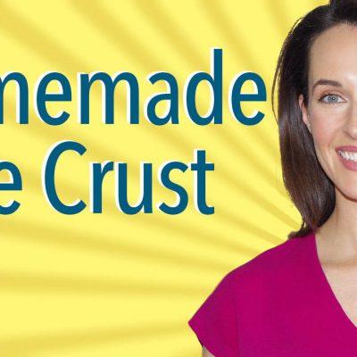 How to Make Pie Crust: Recipe Demo for Vegetarian Homemade Pie Dough, Turnovers, Savory Tarts