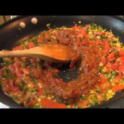 Italian Food Recipes: Pasta Recipes: Spicy Crab Pasta