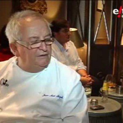 Jai Giro…con el cocinero Juan Mari Arzak