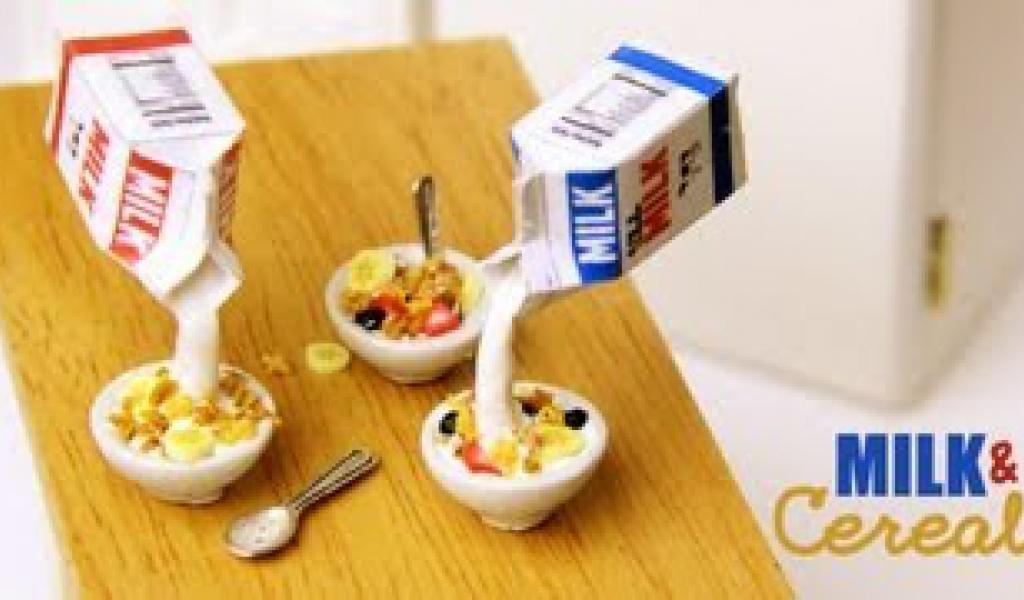 Milk & Cereal – Clay Breakfast Tutorial