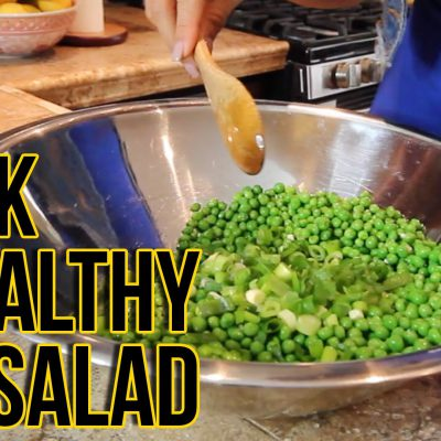 Quick & Healthy Pea Salad/RaqC