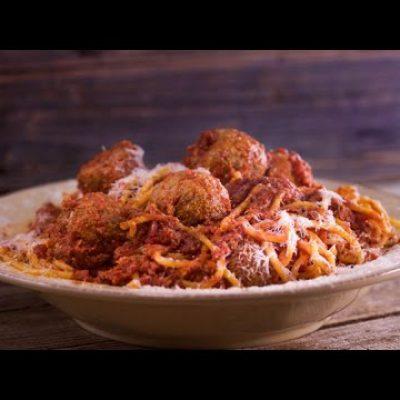 Rocco DiSpirito's Mama's Meatballs