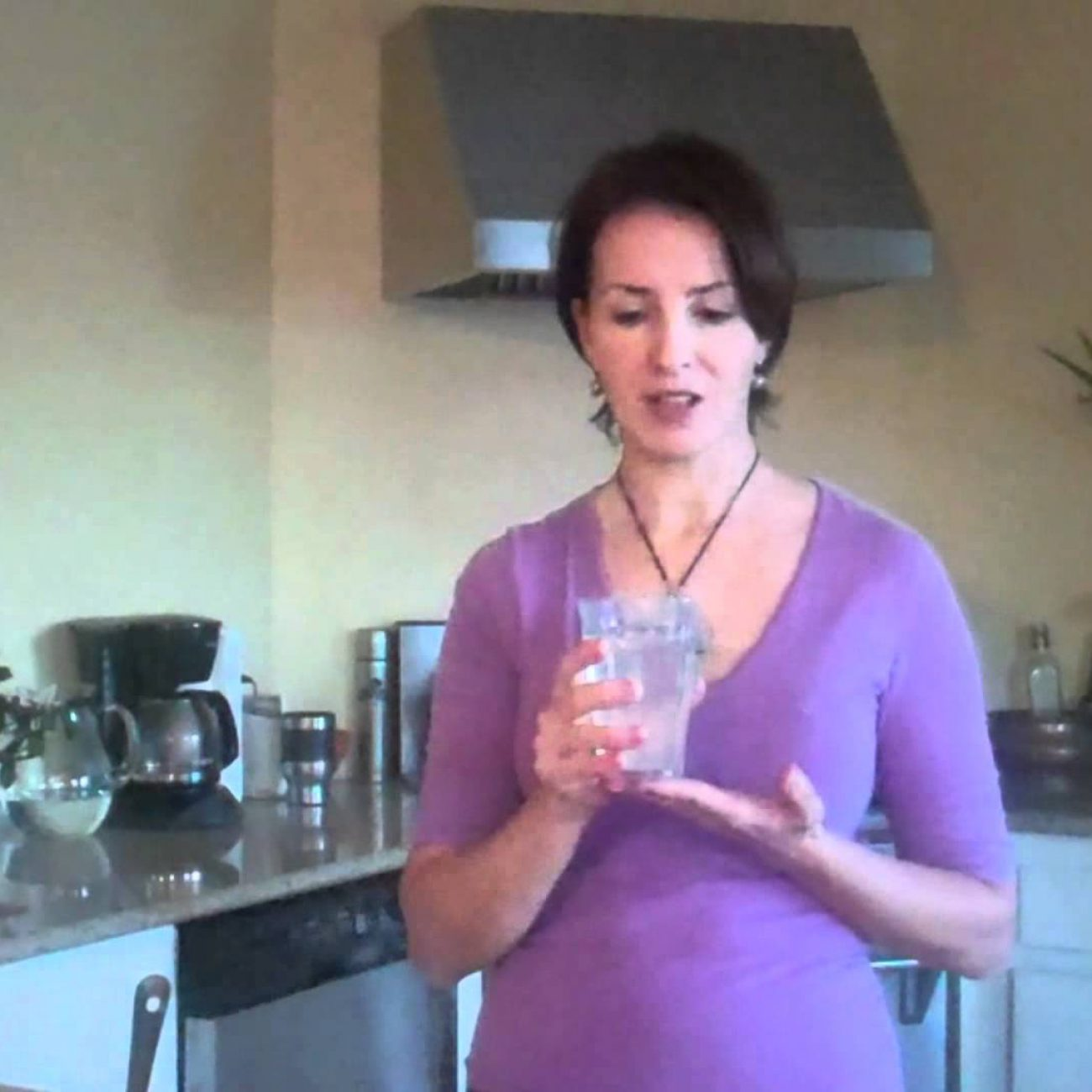 Start Your Morning with This Drink … (Hot Water with Lemon)