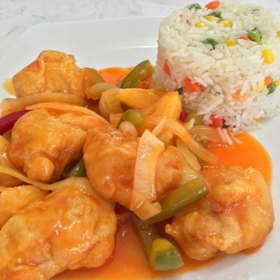 Sweet And Sour Chicken Recipe!
