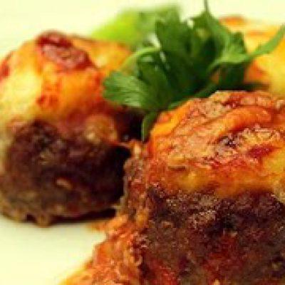 Turkish Stuffed Meatball Recipe – Meatballs with Mashed Potato