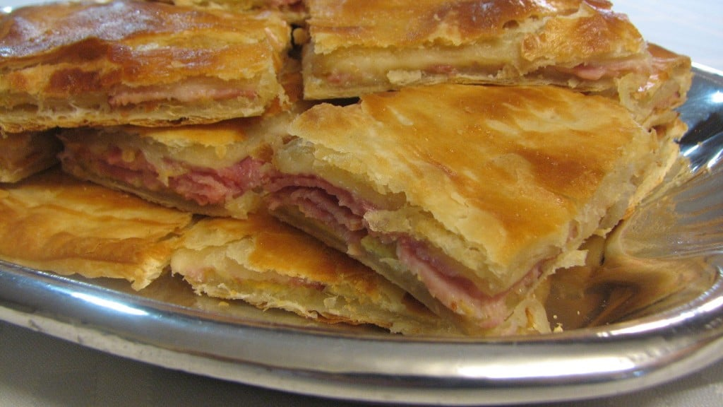 Ham And Cheese In Puff Pastry Lynn S Recipes Super Bowl Recipe Flow