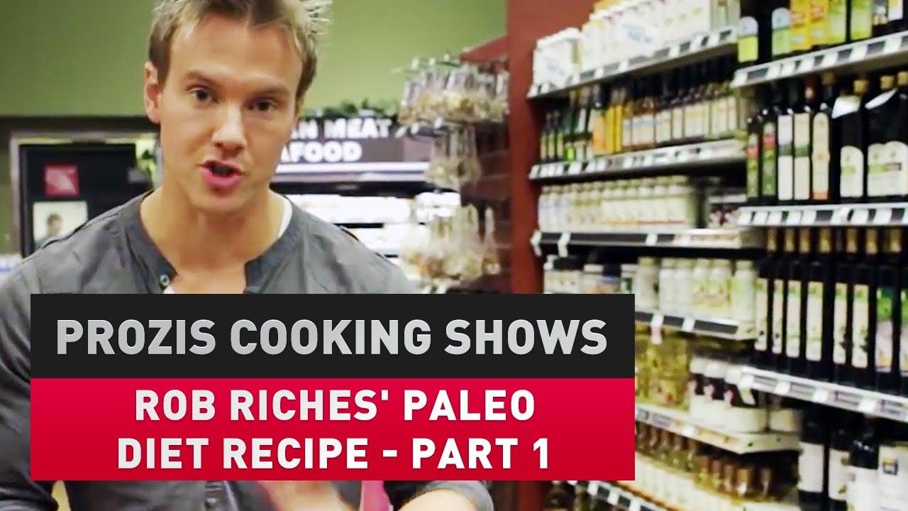 Rob Riches' paleo diet recipe (part 1)
