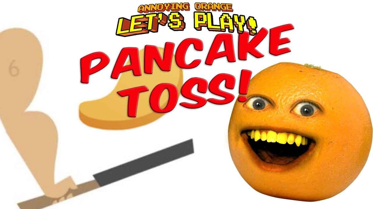 Annoying Orange Plays – Pancake Toss!