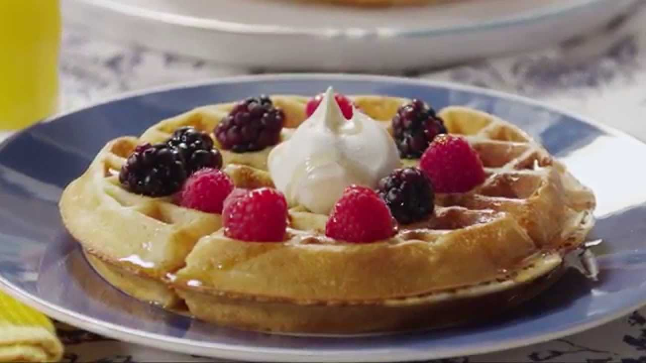 Brunch Recipes – How to Make Belgian Waffles