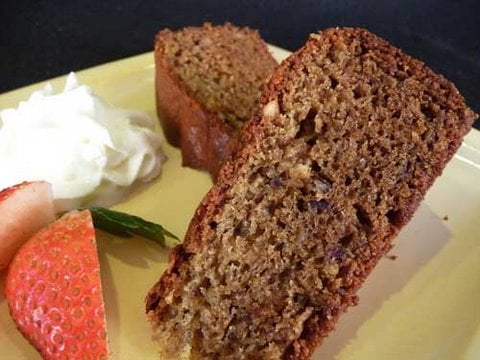 How to make Eggless Dates & Walnut Cake Recipe