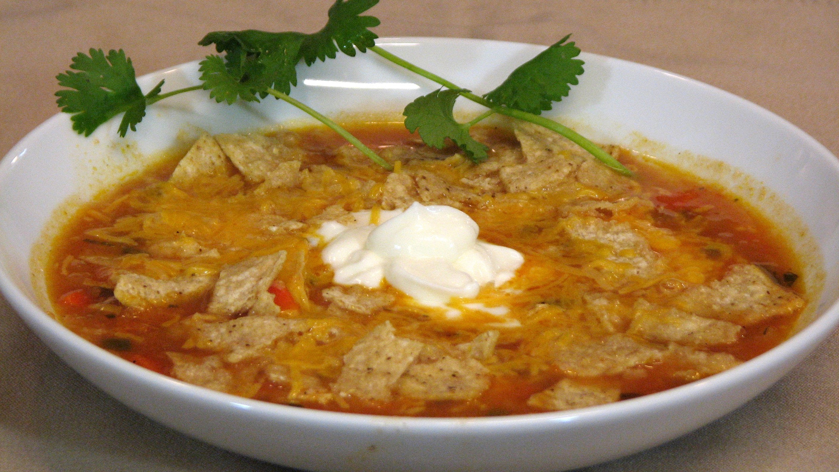 Mexican Chicken Soup — Lynn's Recipes