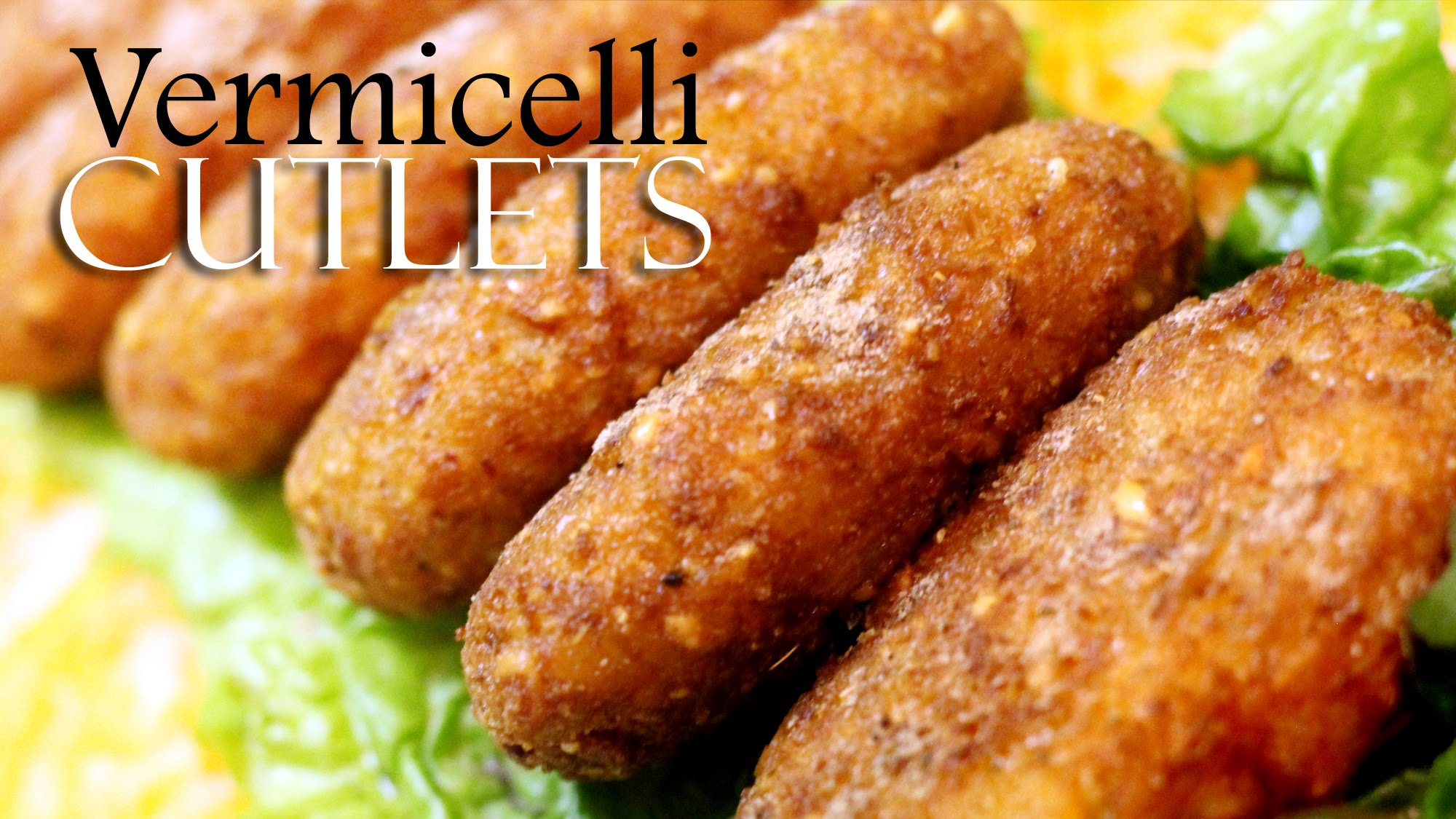 Potato vermicelli cutlets recipe indian veg starters for Appetizers to make at home