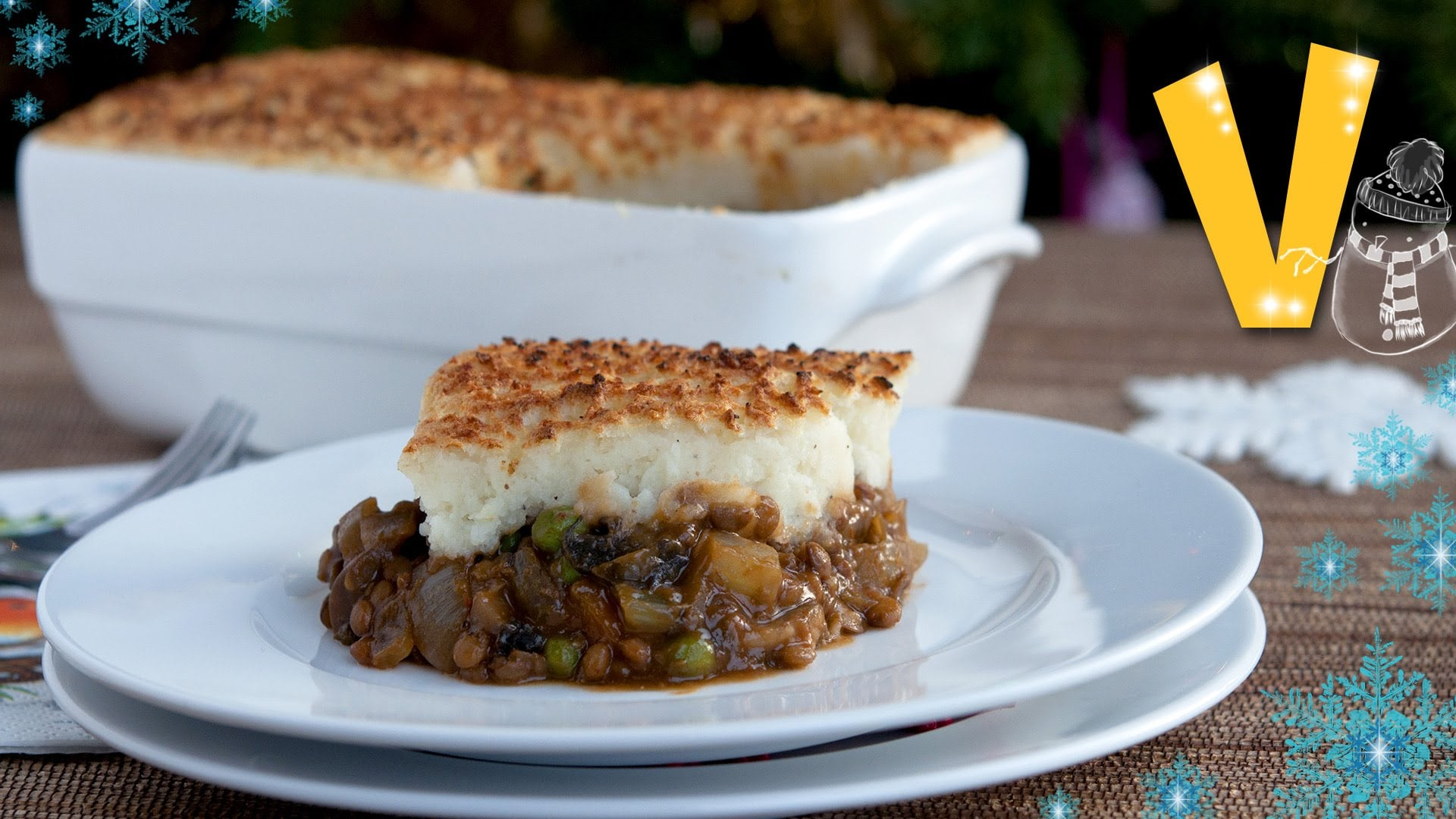 Shepherd's pie – Recipe by The Vegan Corner