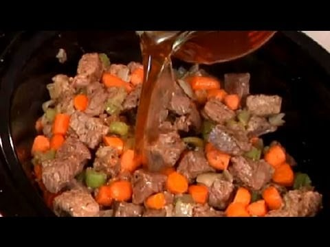 Slow Cooker Beef Stew With Baby Carrots Recipe : Beef Stew Recipes & More