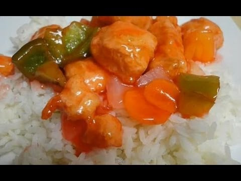 Sweet and Sour Chicken – Restaurant Style