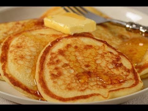 Buttermilk Pancakes Recipe Demonstration – Joyofbaking.com