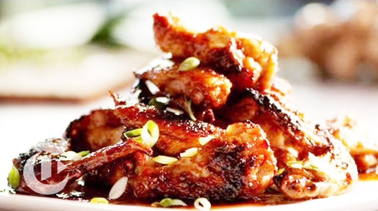 Chicken Wing Recipe A Mix Of Spicy And Crunchy The New York Times Recipe Flow