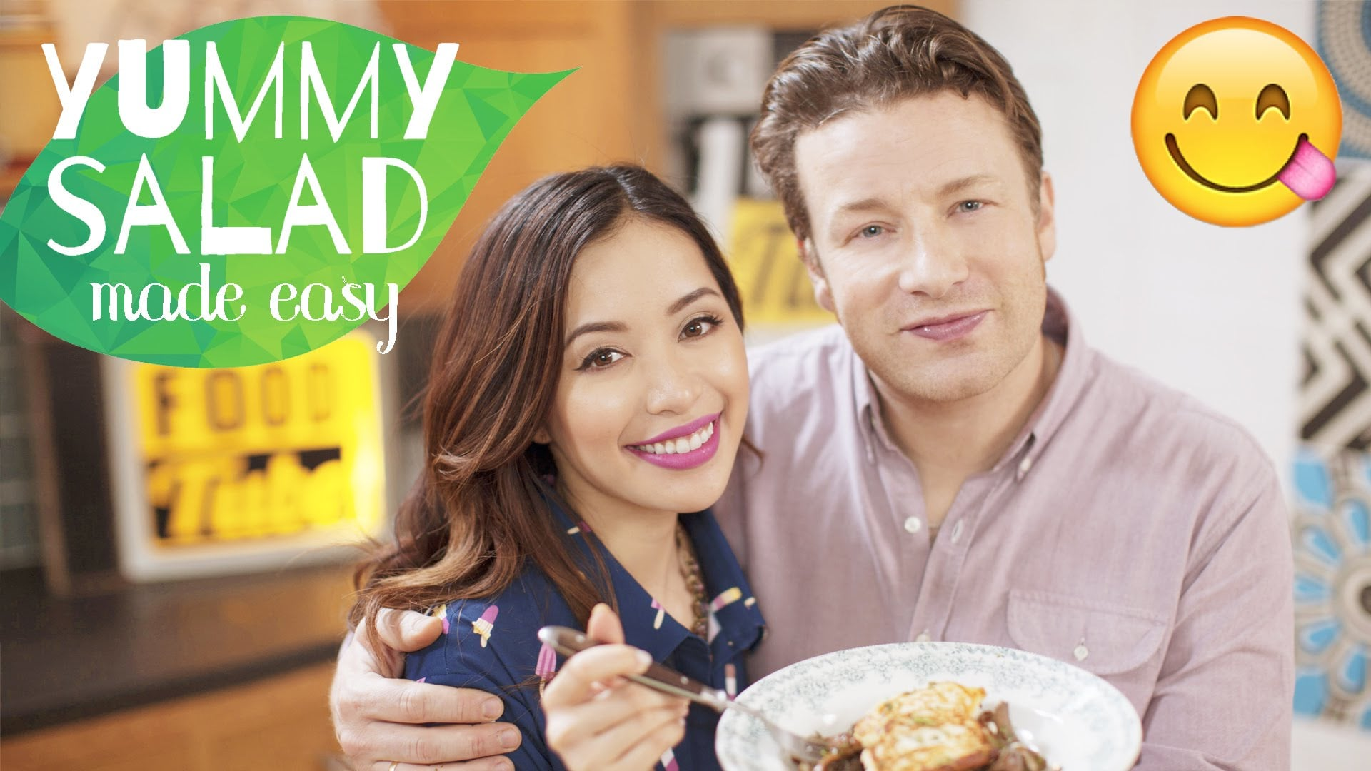 Delicious Salad Made Easy with Jamie Oliver