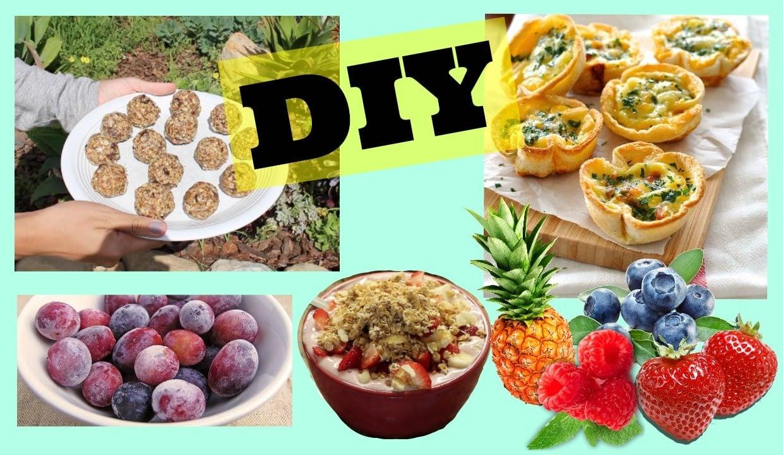 DIY QUICK HEALTHY SNACKS! – HowToByJordan