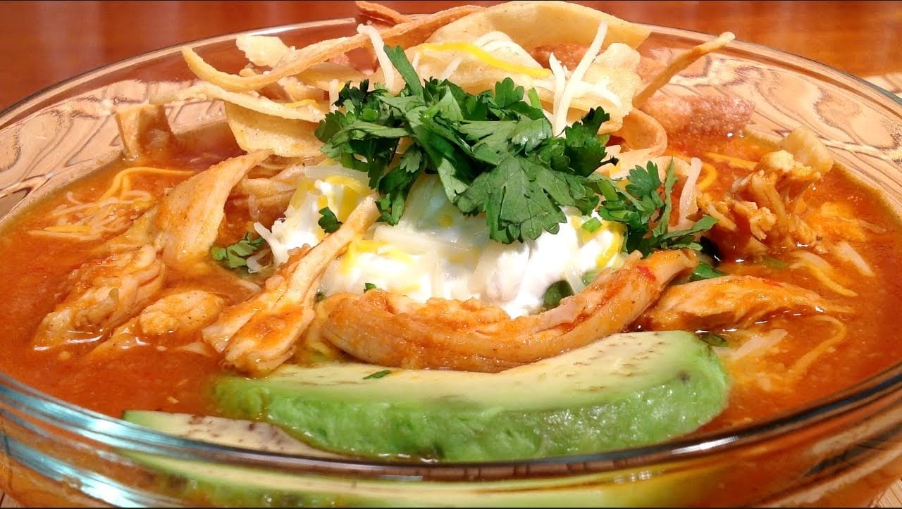 Food Network Mexican Tortilla Soup