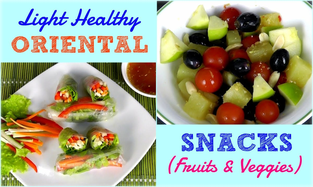 Light Healthy Oriental Snacks (Weight Loss Recipes)