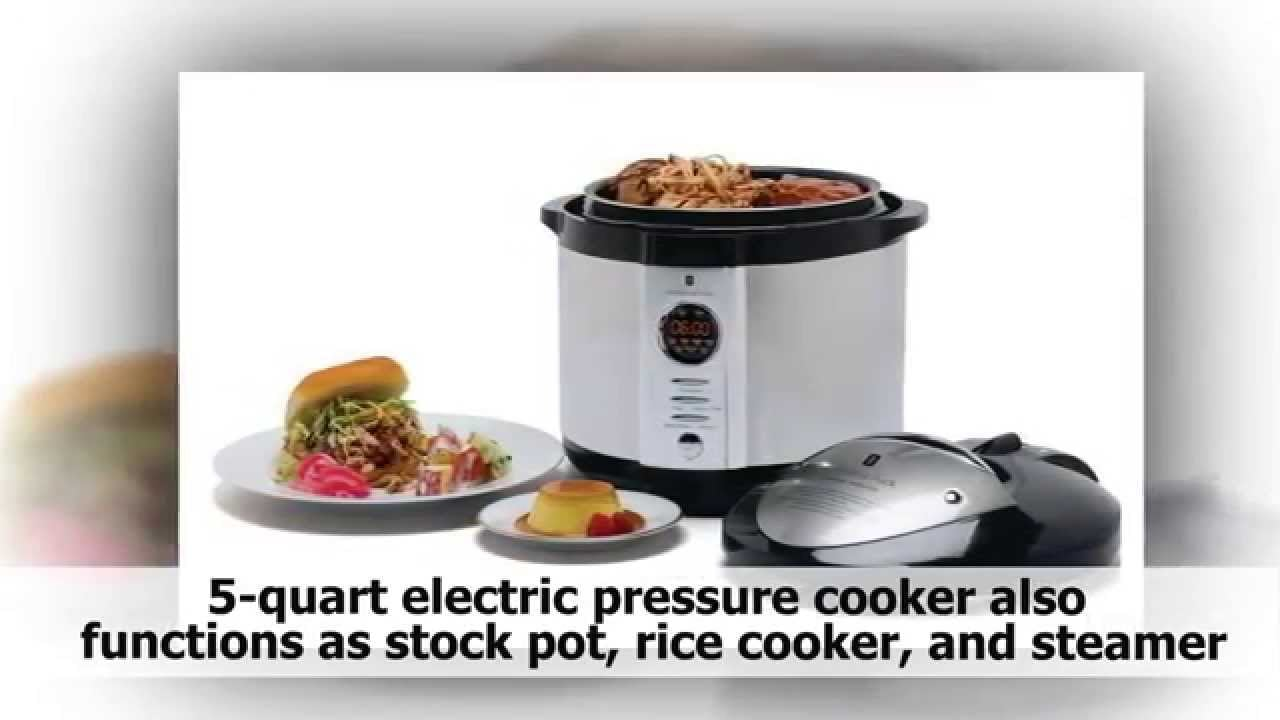 pressure cooker recipes :  Wolfgang Puck Electronic Pressure Cooker : Awesome gift!