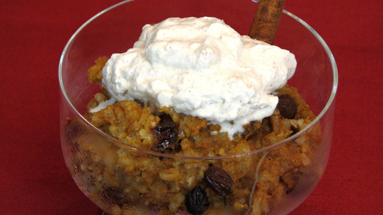 Slow Cooker Pumpkin Rice Pudding — Lynn's Recipes