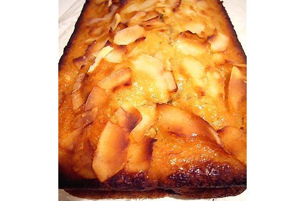 Orange Ginger Honey Cake - recipe at recipeflow.com