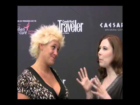 chiefs kitchen Interview with Anne Burrell at the Atlatnic City Food and Wine Fest