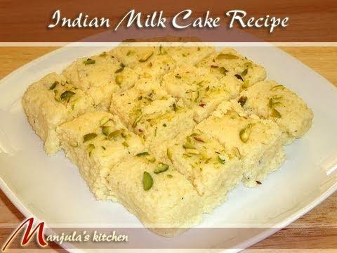 Indian Milk Cake Recipe By Manjula