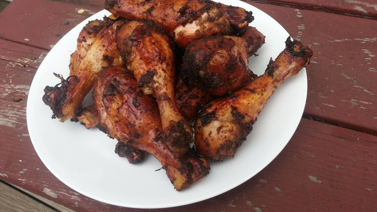 Jamaican **** Chicken Legs – Easy **** Chicken Recipe on the Weber Grill