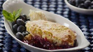 Blueberry Recipes - How to Make Blueberry Cobbler