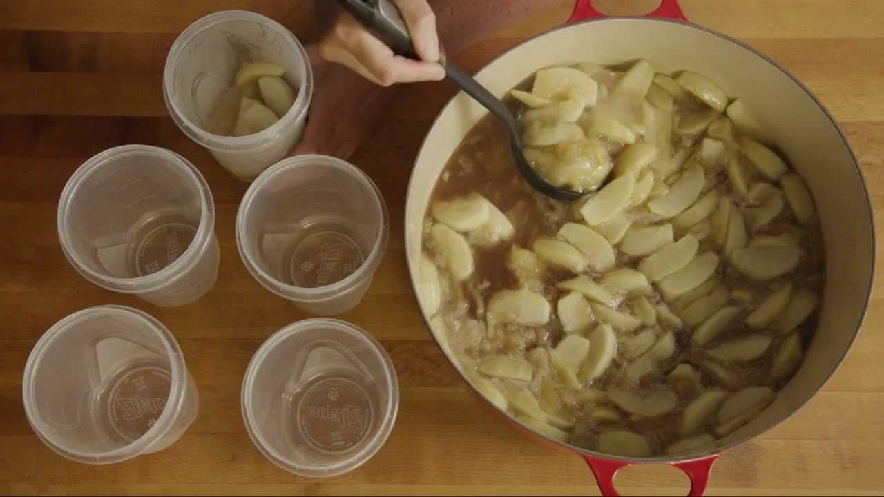 Pie Recipes – How to Make Apple Pie Filling