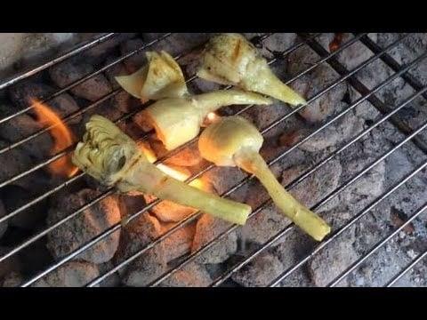 Vegetarian BBQ Tricks – Grilled Artichoke Recipe