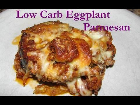 Atkins Diet Recipe: Low Carb Eggplant Parmesan (IF)