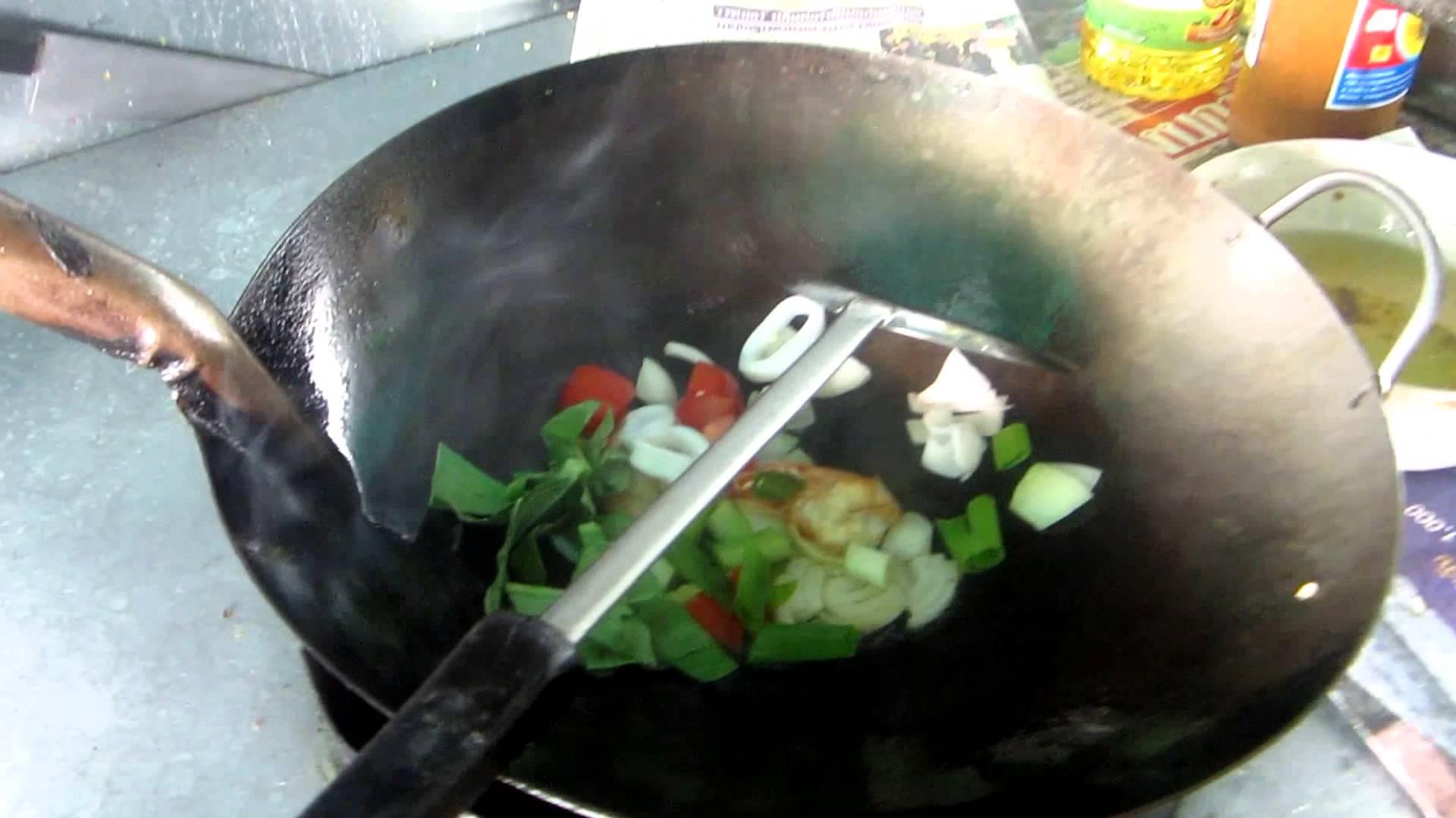 Arroz Com Frutos Do Mar Recipes   Khao Pad Talay   Thai Seafood Fried Rice Recipe   Regional Cooking