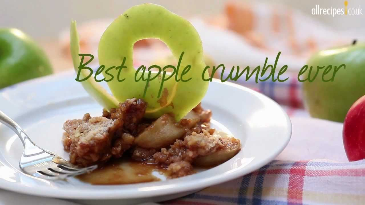 Best apple crumble ever recipe – Allrecipes.co.uk