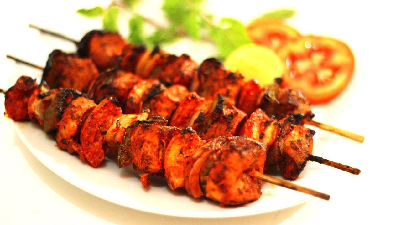 Chicken Tikka Kabab Recipe (Indian non veg starter) – Chicken Recipe