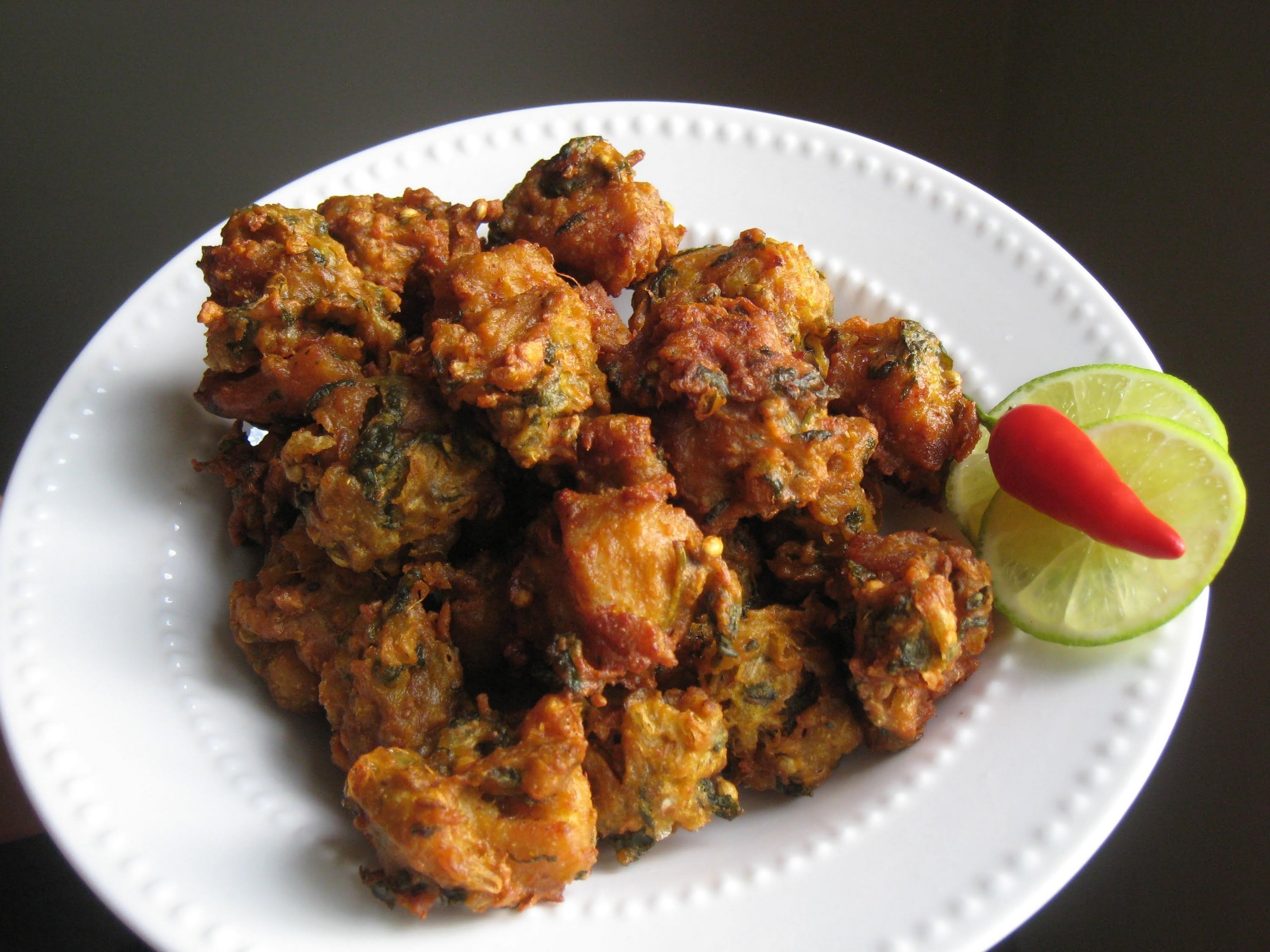 Crispy chicken pakora recipe