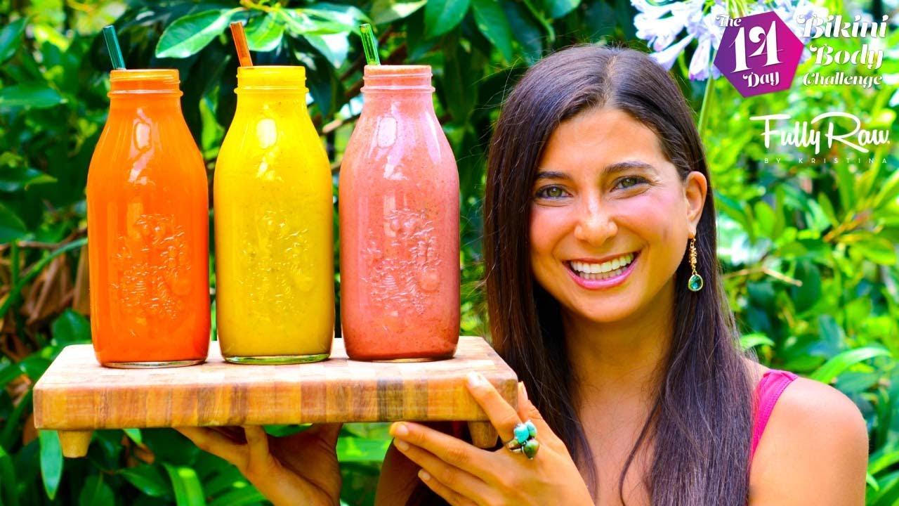 Easy FullyRaw Juice & Smoothie Recipes!