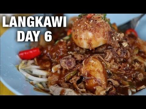 Hafiz Rojak, Cooking, and Thai Seafood in Langkawi (Day 6)